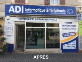 ADI89 - Habillage de façade