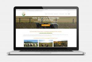 Ferme Chaumière - Site web